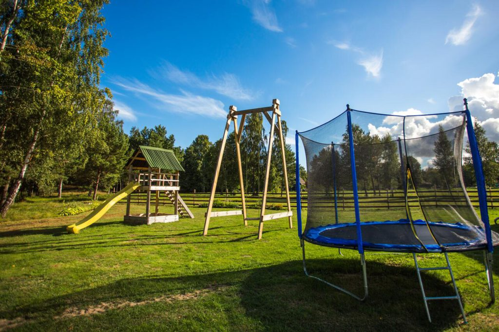 Holiday home Nitaiga playground