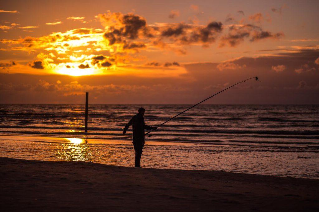 Holiday home Nitaiga fishermen in the sunset